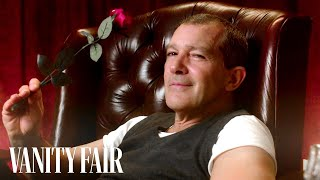 Antonio Banderas Reads Mind-Blowing Facts About Love | Vanity Fair