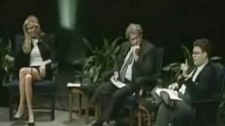 ann coulter Debates Al Franken and Loses