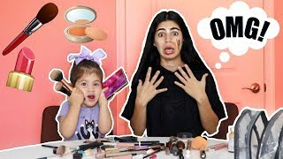 2 YEAR OLD DOES MOMMYS MAKEUP!