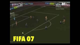 RONALDINHO in all FIFA Games!