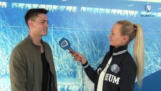 Blick auf die Partie SV Sandhausen 1916 - VfL Bochum 1848 mit Nico Rieble