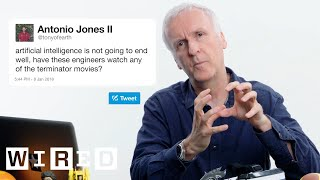 James Cameron Answers Sci-Fi Questions From Twitter   Tech Support   WIRED