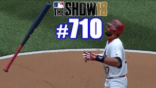 BAT FLIPPING IN ST. LOUIS!   MLB The Show 18   Road to the Show #710