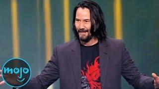 10 Times Keanu Reeves BROKE the Internet