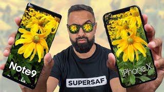 Galaxy Note 9 vs iPhone X Camera Test Comparison