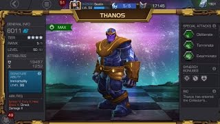 RANK 5 LEVEL 50 AWAKENED THANOS! - Abilities, Thoughts and Synergies - Marvel Contest of Champions