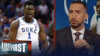 Nick Wright reacts to Zion Williamson