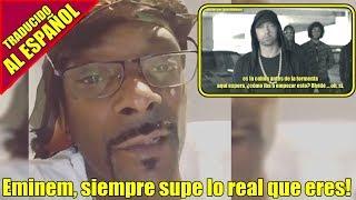Snoop Dogg Reacciona a Eminem Rips Donald Trump | MUSICRAPHOOD