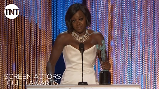 Viola Davis: Acceptance Speech | 23rd Annual SAG Awards | TNT