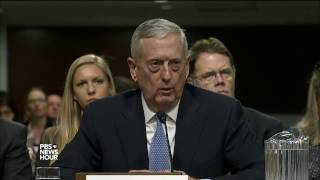 In Senate hearings, Mattis and Pompeo differ over Iran nuclear deal