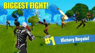 The Best 50 v 50 Comeback! [Fortnite]