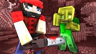 Der VERRÜCKTE HOLZFÄLLER?! - Minecraft EINBRUCH