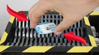 Experiment Shredding Fidget Cube | The Crusher