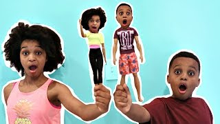 Bad Baby Shiloh and Shasha TURN INTO TOYS! - Onyx Kids
