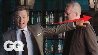 Matt Damon Tells You How to Win a Bar Fight | GQ