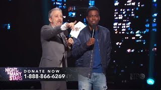 Jon Stewart Chris Rock - Night Of Too Many Stars