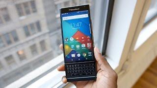Blackberry Priv Review!