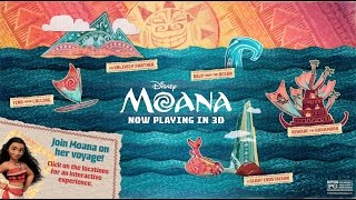 Journey Through the World of Moana!