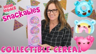 Num Noms Snackables Cereal Magic Milk Toy Surprise   Series 1 Unboxing by Amy Jo