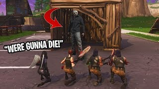 FIRST EVER Fortnite: Friday the 13th NEW GAMEMODE! PLAYGROUND MODE IS INSANE! (Custom)