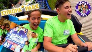 RIESEN FAMILIENSPAß Europa-Park - Auf den Spuren von Happy Family | Family Fun