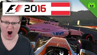 ACTION-RENNEN   Österreich 1/2 🎮 F1 2016 #74