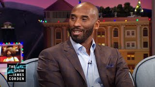 Kobe Bryant Runs the Triangle with His Daughter