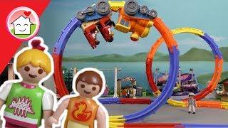 Playmobil Film deutsch - Oktoberfest - Achterbahn fahren mit Familie Hauser
