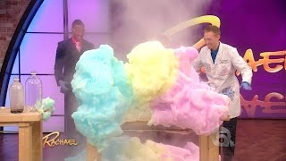 Exploding Foam Science on Rachael Ray with Jeff Vinokur & Nick Cannon