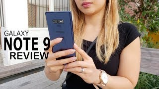 Samsung Galaxy Note 9 Review: My First Note & I Love It!