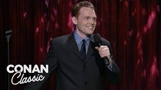 """Bill Burr Stand-Up On """"Late Night With Conan O'Brien"""" 04/29/99"""