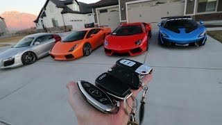 FULL TOUR OF THE SUPERCAR COLLECTION!!!