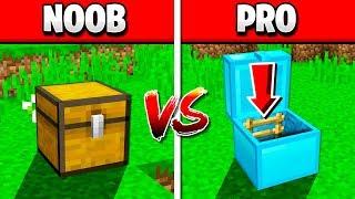 MINECRAFT NOOB vs PRO SECRET CHEST!