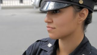 Protester falls in love with NYPD Lady Cop!  - By Rob Potylo