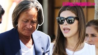 Mohamed Hadid & Shiva Safai Leave Lunch Together At Il Pastaio 7.2.15 - TheHollywoodFix.com