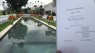 "Chester Bennington sings ""Hallelujah"" in Eulogy to Chris Cornell - Complete song w/spoken intro"