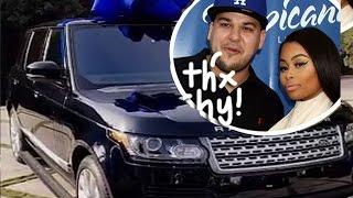 Blac Chyna Gives Rob Kardashian A Range Rover For Christmas