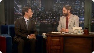 Jimmy Fallon: Zach Galifianakis (Late Night with Jimmy Fallon)