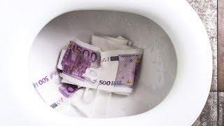 Komische Orte, an denen Menschen Geld versteckten