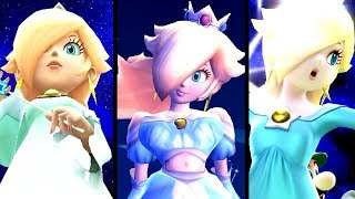 Super Mario Evolution of GIANTESS ROSALINA 2007-2015 (Wii to Wii U)