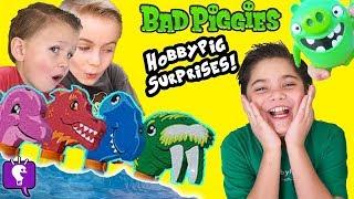HobbyPig has a Lot of Toy SURPRISES HIDDEN by HobbyKidsTV