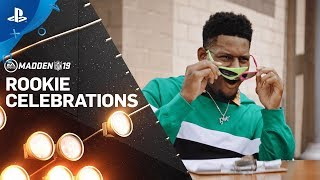 Madden NFL 19 – Rookie Celebrations featuring Juju Smith-Schuster! | PS4