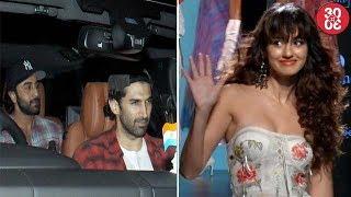 Arjun, Ranbir, Karan Attend 'Bareilly Ki Barfi' Screening | Disha Avoids Interacting With Media?