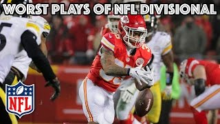 Worst Plays of the Divisional Playoff Round | NFL Highlights