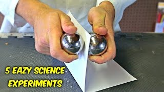 5 Eazy Science Experiments You Can Do at Home