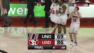 MBB Highlights: South Dakota 86, Omaha 69