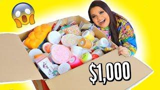 $1,000 SLIME MYSTERY BOX