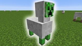 Was passiert, wenn man Minecraft Creeper mit Schafen kreuzt ...?
