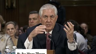 Rex Tillerson: I wouldn