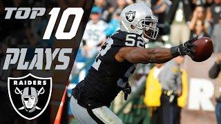 Raiders Top 10 Plays of the 2016 Season | NFL Highlights